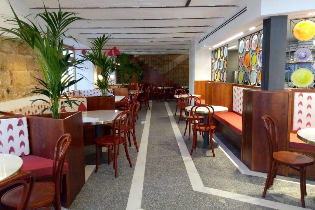 Interior del nuevo local de Can Joan de sAigo